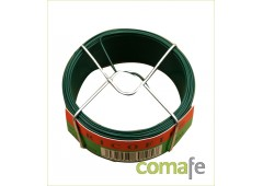 Alambre Acero Plastificado Verde 1.2MM 050MT 7793=BV27