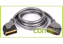 Euroconector blinda cable 1,5m