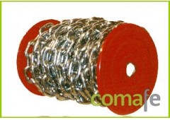 Cadena zincada  2,5mm 80mt 10k