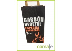 Carbon vegetal barbacoa 3kg